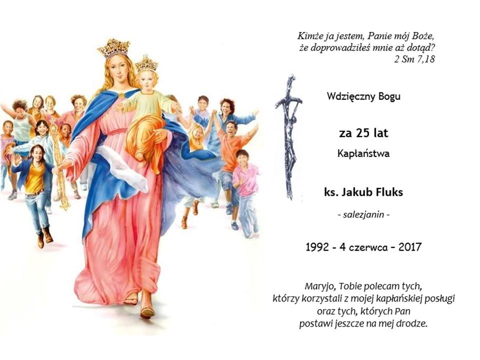 Jubileusz 25-lecia Kapłaństwa Ks. Jakuba Fluksa