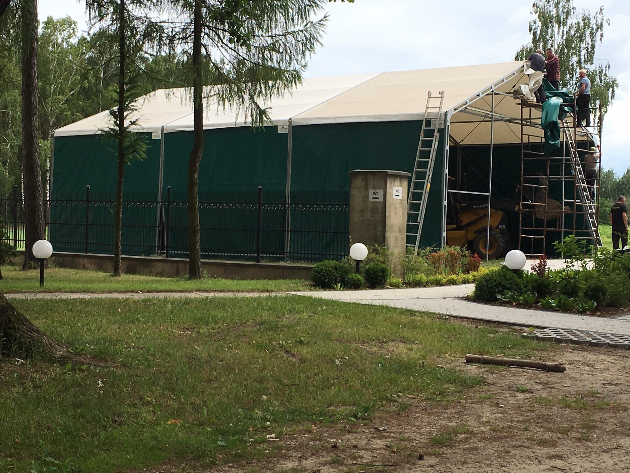 Przygotowania do remontu Kościoła