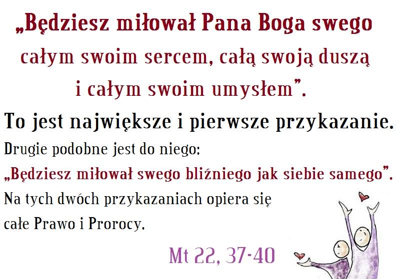 XXXI Niedziela Zwykła – 4 listopada  2018 r.