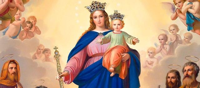 Zesłanie Ducha Świętego – 23 maja 2021 r. Odpust ku czci Matki Bożej Wspomożenia Wiernych