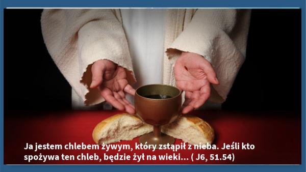 XIX Niedziela Zwykła – 8 sierpnia 2021 r.