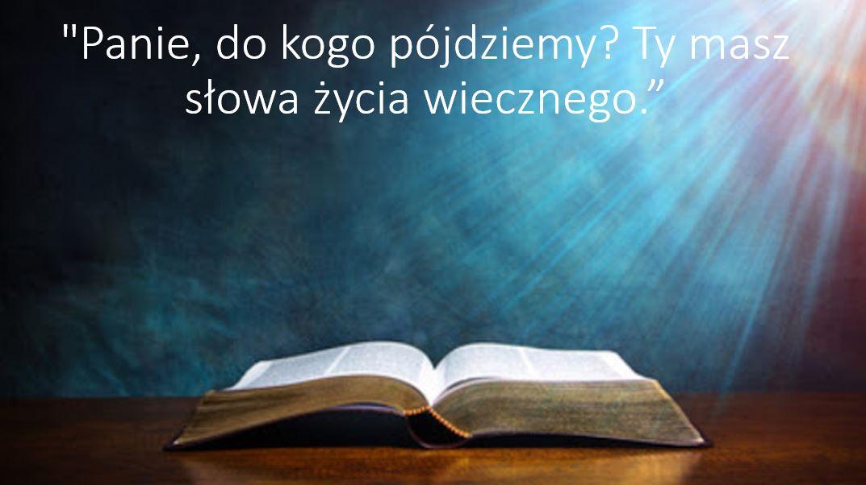 XXI Niedziela Zwykła – 22 sierpnia 2021 r.